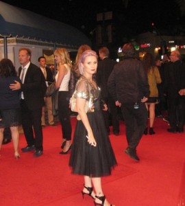 Carolyn Roper on Red Carpet