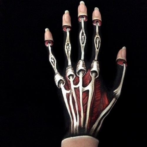 3D body painting Carolyn Roper 33 WP Gallery