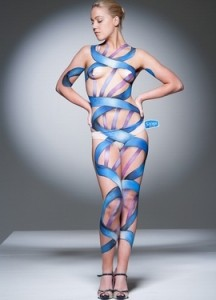 Body Painting Carolyn Roper Sanex