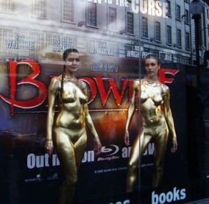 Gold Body Painting Carolyn Roper