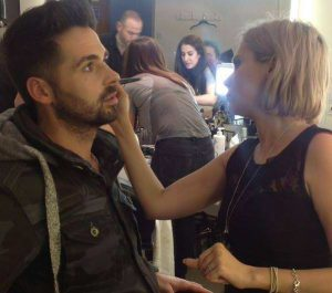 Working with the brilliant Ben Haenow X Factor winner 2014