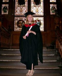 Graduation from West Thames College'
