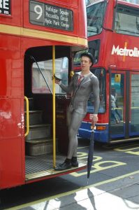 A great publicity stunt on a London bus